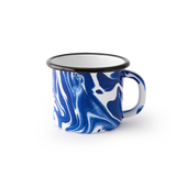 MUG - Blue and White Marble
