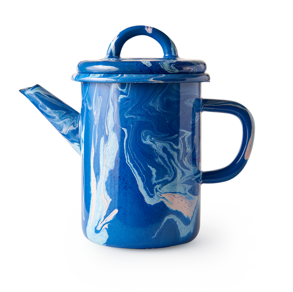 TEA POT - Cobalt