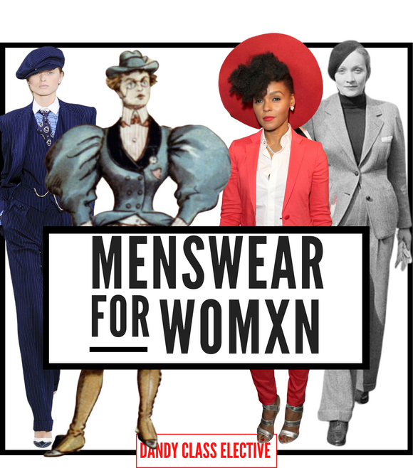 MENSWEAR FOR WOMXN: One-On-One