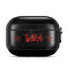 Witch! - Leather Airpod Pro Case - Crescent Chalice