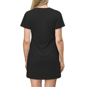 Witchcraft Black Mini Dress - Crescent Chalice