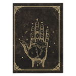 Book of Spells - Palmistry Hardcover Journal - Crescent Chalice