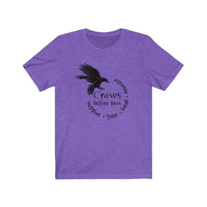 Crows Before Bros Unisex Tee - Crescent Chalice