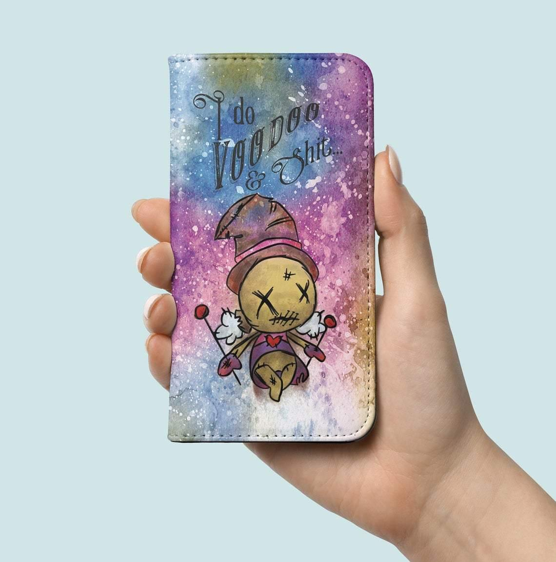 Papa Legba Poppet with Veve Phone Case - Crescent Chalice