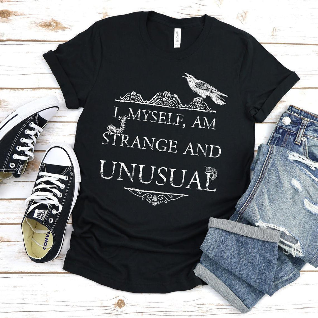 I Myself am Strange and Unusual Unisex Tee