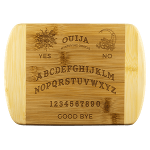 Ouija Wooden Cutting Board - Crescent Chalice