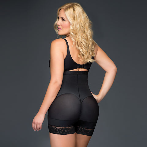 Fájate Black Body Shaper Bottom