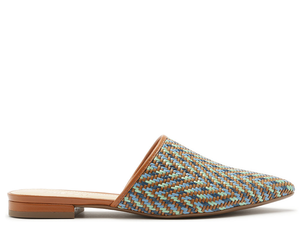 Multi Color Pointy Sandals