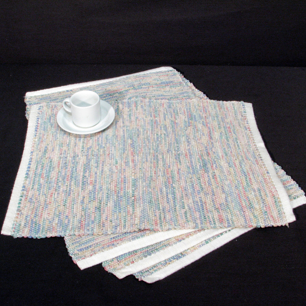 Variegated Pastel Place Mats (Set of 4)