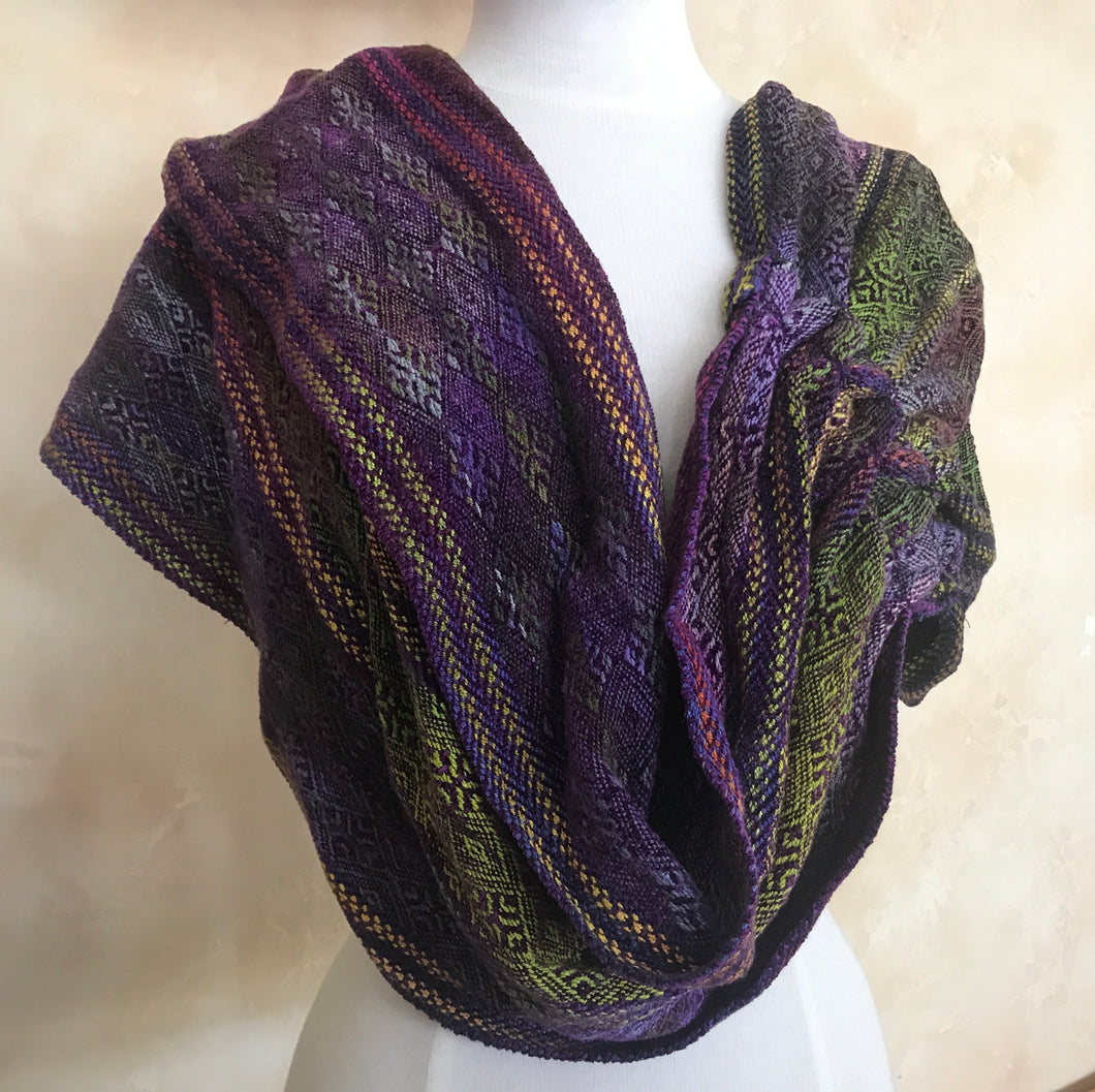 Cowl (Purple, Gold, Green)