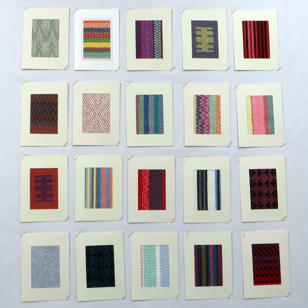 Woven Notecards (Set of 5)