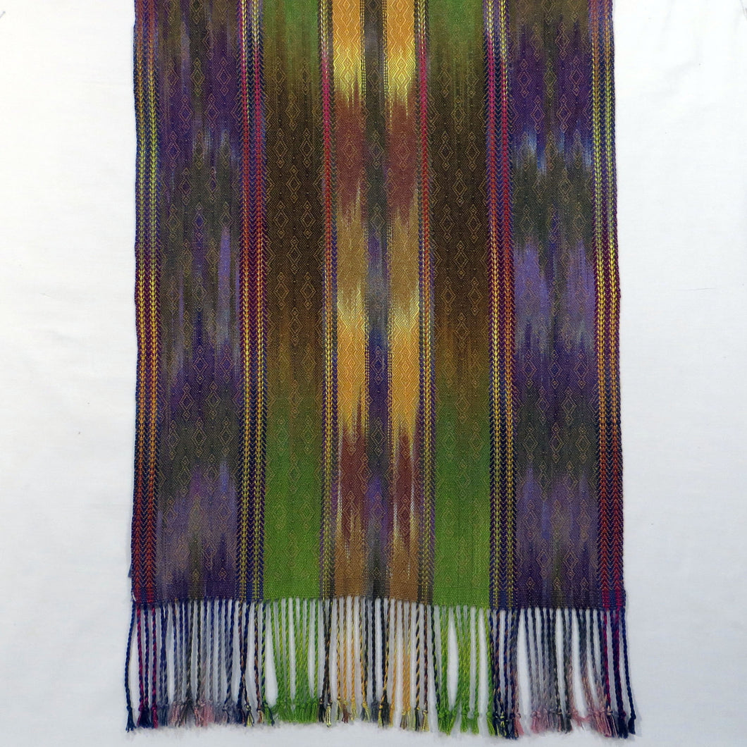 Shawl (Purple, Yellow, Gold)