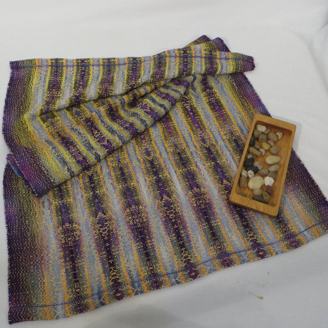 Table Runner (Purple, Gold)