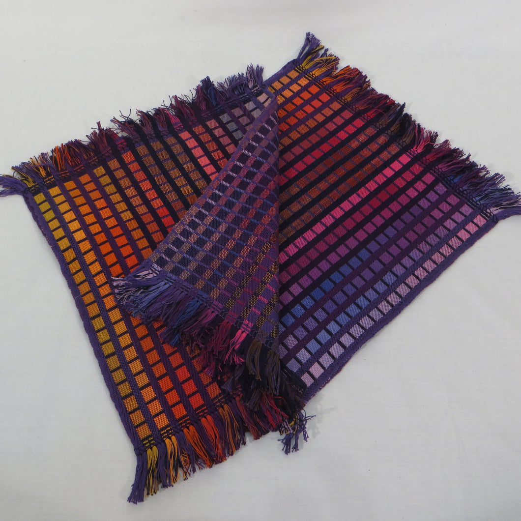 Placemats (2), (Dark Rainbow Multi)