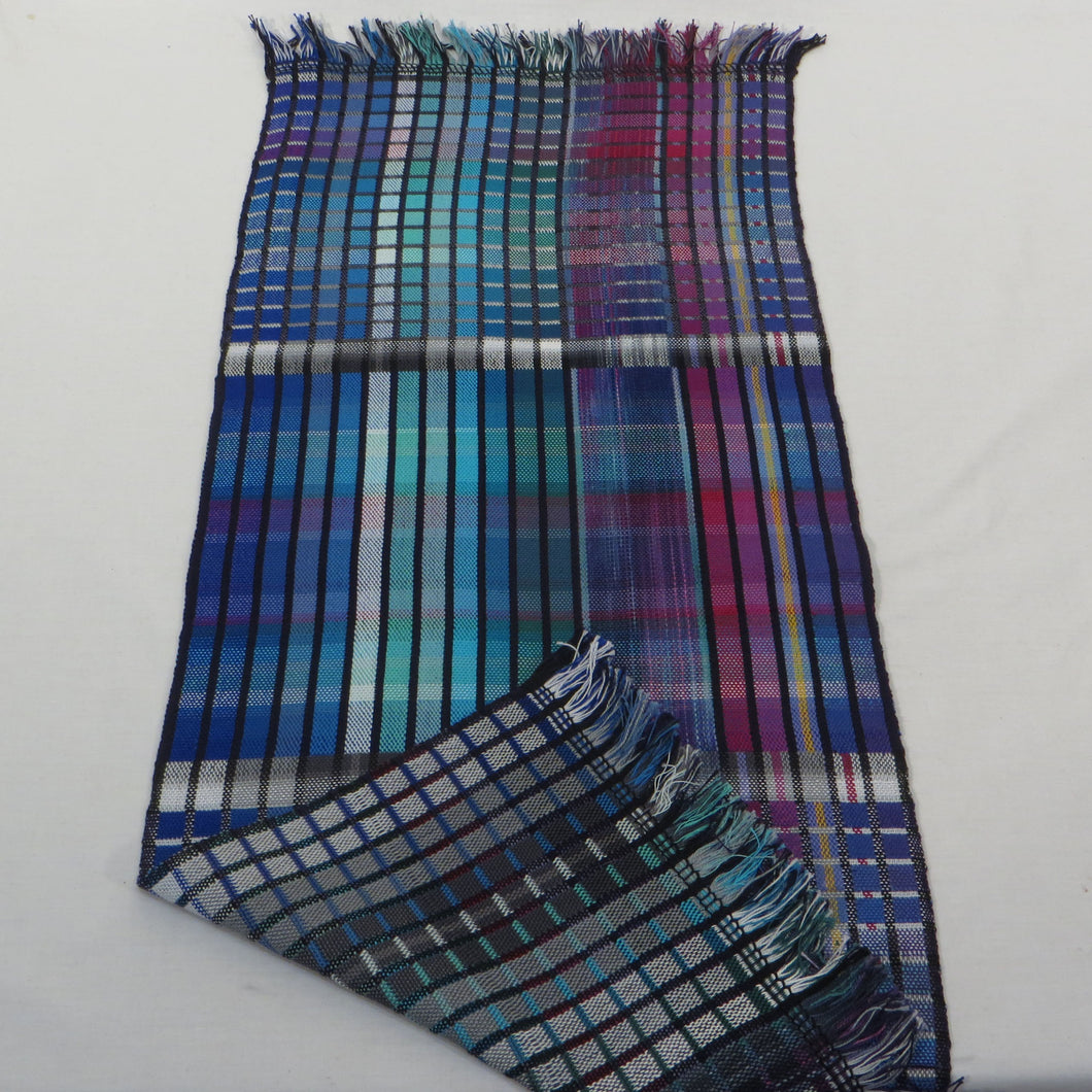 Table Runner (Turquoise Rainbow Multicolour)
