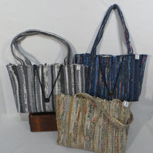 Load image into Gallery viewer, Tote Bag (Blue, Gray or Ivory)