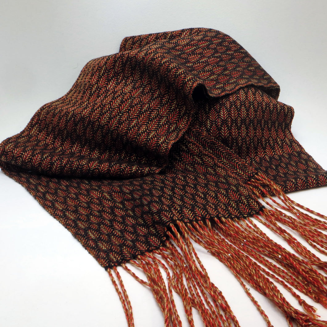 Scarf: Autumn Leaves