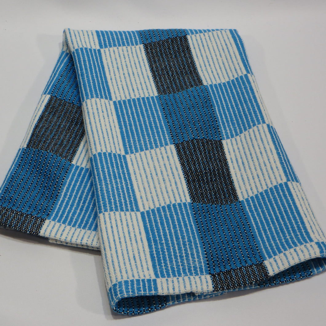 Halvdrall Towel: (Natural, Blue, Black)