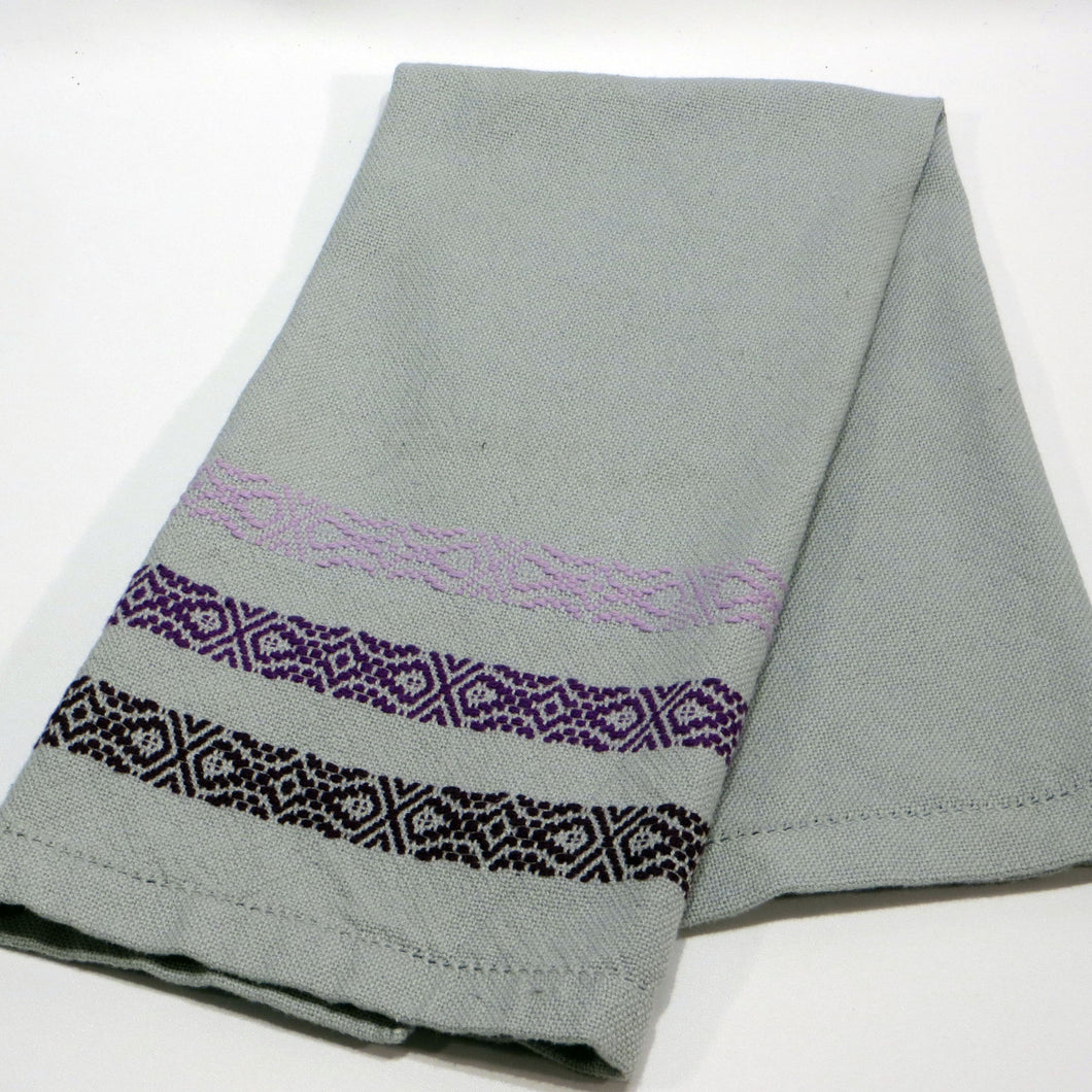 Kitchen Towel (Gray, Purple)