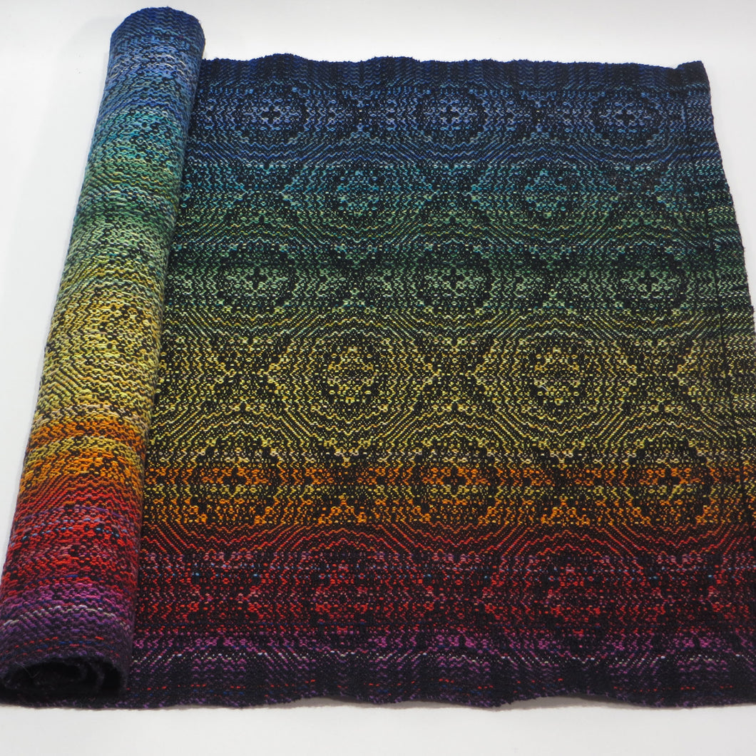 Kitchen Towel (Multicolour Rainbow, Black)