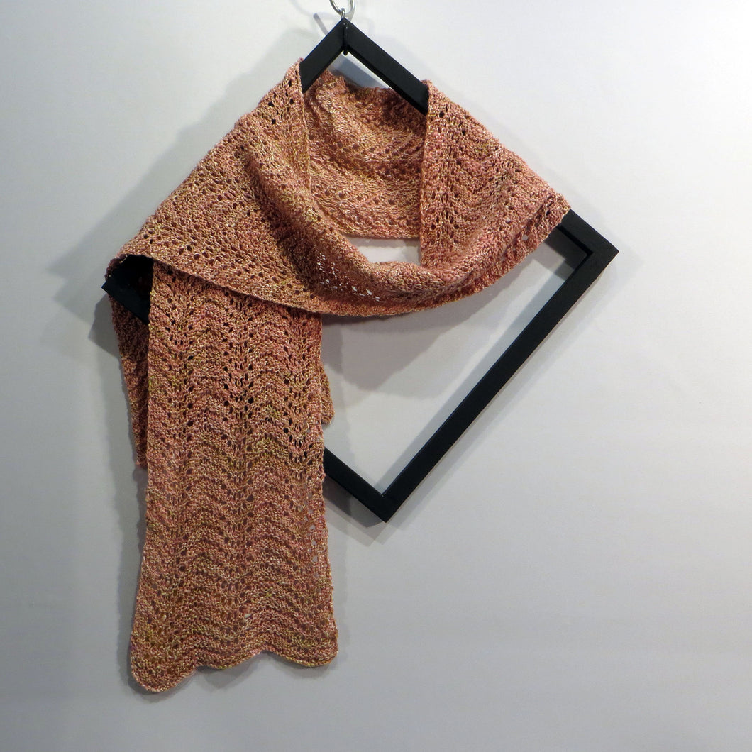 Lace Scarf: Rosebud (Pink)