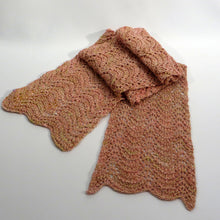 Load image into Gallery viewer, Lace Scarf: Rosebud (Pink)