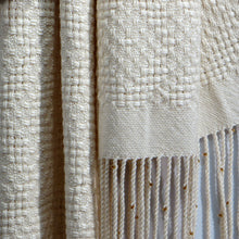 Load image into Gallery viewer, Lace Weave Shawl (Cream)