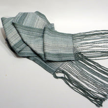 Load image into Gallery viewer, Scarf (Teal, Silver)