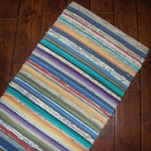 Load image into Gallery viewer, Upcycled Rug (Spring, Multicolour)