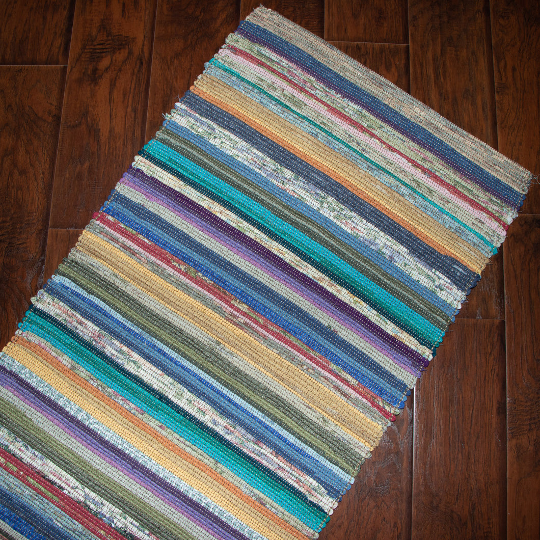 Upcycled Rug (Spring, Multicolour)