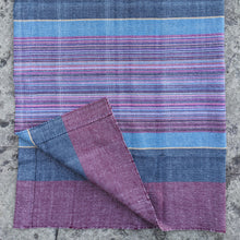 Load image into Gallery viewer, Multicoloured Tea Towel (Blue, Purple, Pink, Red)