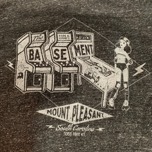 Load image into Gallery viewer, The Basement - Rollergirl Unisex Tri-Blend Charcoal Hoodie