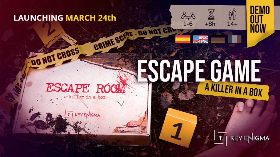 New Crime Escape Room in a box on Kickstarter
