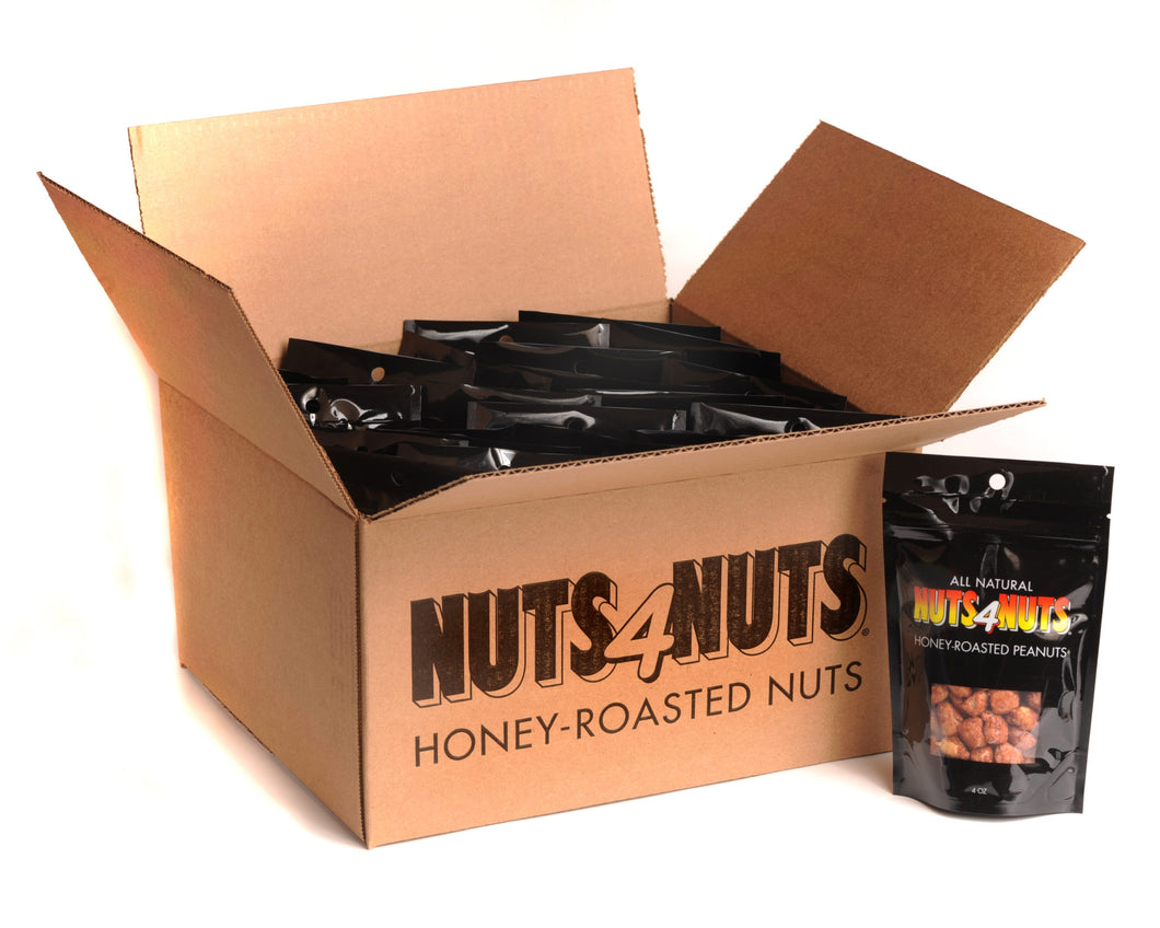 Honey-Roasted Peanuts 4oz Party Pack