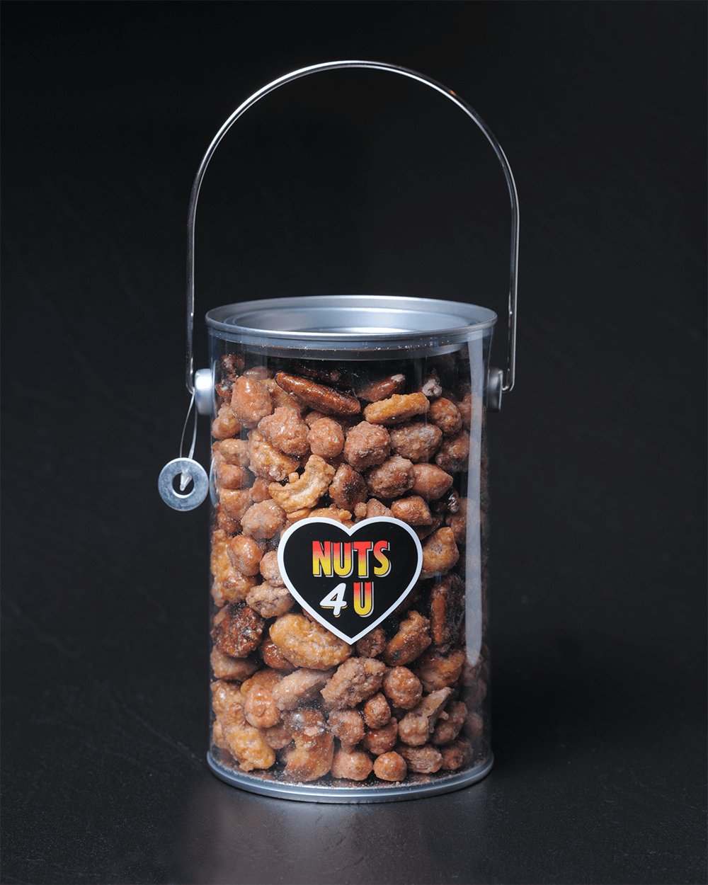 Honey-Roasted Mixed Nuts Gift Tin