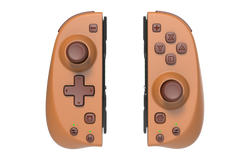 Stoga Controller Replacement for Nintendo Switch Nook Brown