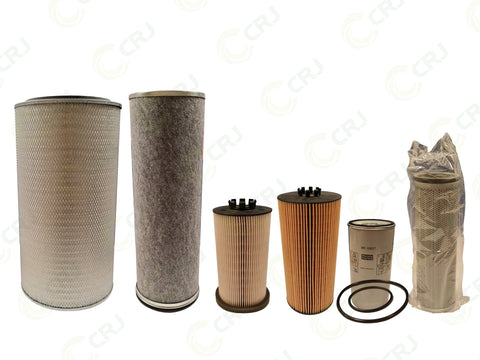 Filter Kit - Doppstadt AK435 / AK510 / DW3060 (Mercedes Engine) - 1000 Hour