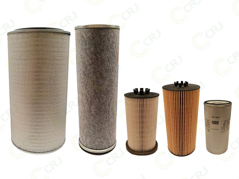 Filter Kit - Doppstadt AK435 / AK510 / DW3060 (Mercedes Engine) - 250 Hour