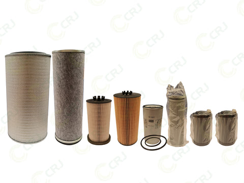 Filter Kit - Doppstadt AK435K / DW3060K (Mercedes Engine) - 1000 Hour