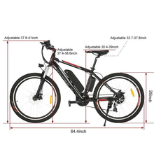 Load image into Gallery viewer, Electric Bicycle Mountain Bike Cycling Bicycle 25 inch Wheel Aluminum Alloy Frame