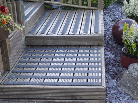 How to install Decking STrips