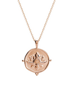 Load image into Gallery viewer, MURKANI Blooming Necklace in Rose Gold