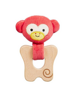 Load image into Gallery viewer, Petit Collage Organic Teether Monkey