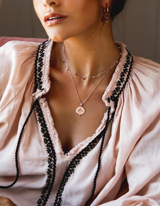 MURKANI Blooming Necklace in Rose Gold