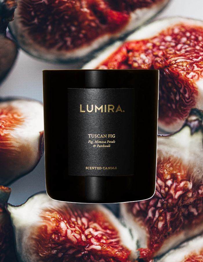Gifts, Lumira, Lumira 'Tuscan Fig' 80hr Candle - Hawkes General Store