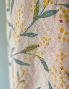 Bright Threads Flowering Wattle Table Cloth