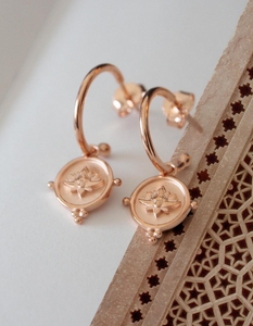 MURKANI Blooming Earrings in Rose Gold