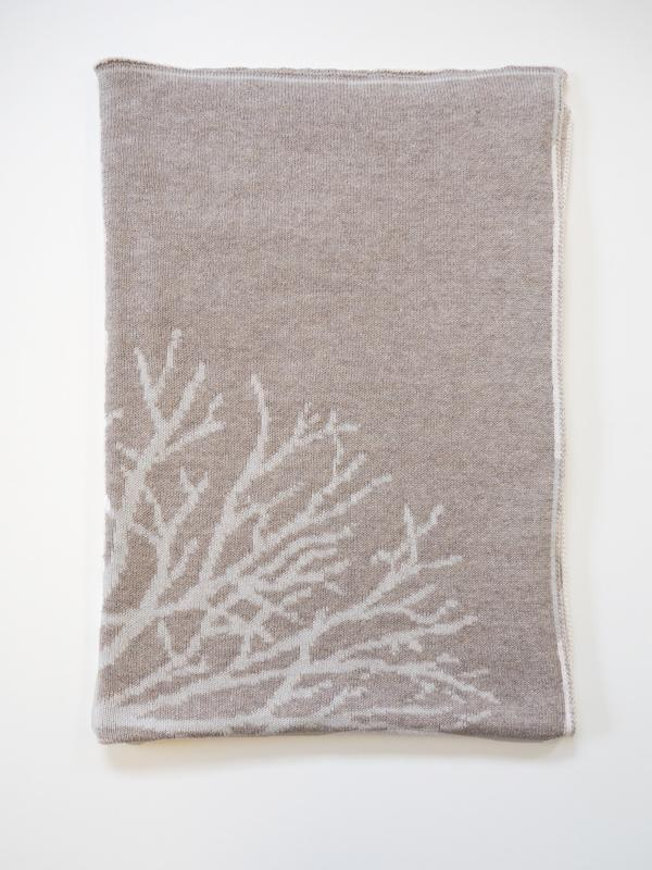 LUNA NINOS Tree Bassinet Cotton Blanket