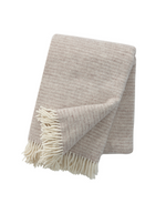 Load image into Gallery viewer, KLIPPAN Ralph Blanket - Beige