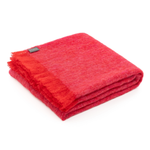 Load image into Gallery viewer, ST ALBANS  Mohair Throw - Pomegranate